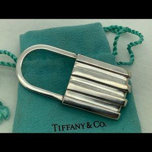 Tiffany&co 925 1995 Lock Key Chain
